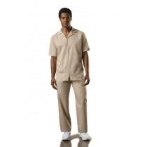 4300 Men's Zip Front Jacket 65% Polyester / 35% Cotton Poplin with Soil Release