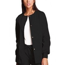 4350   Snap Front Warm-Up Jacket